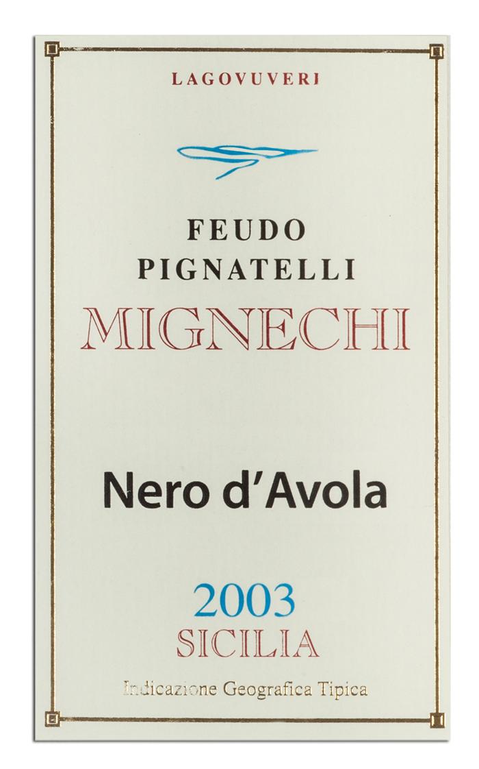 Mignechi - Nero d\'Avola