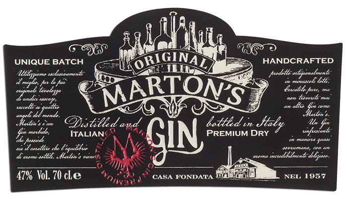 Et. Marton\'s gin